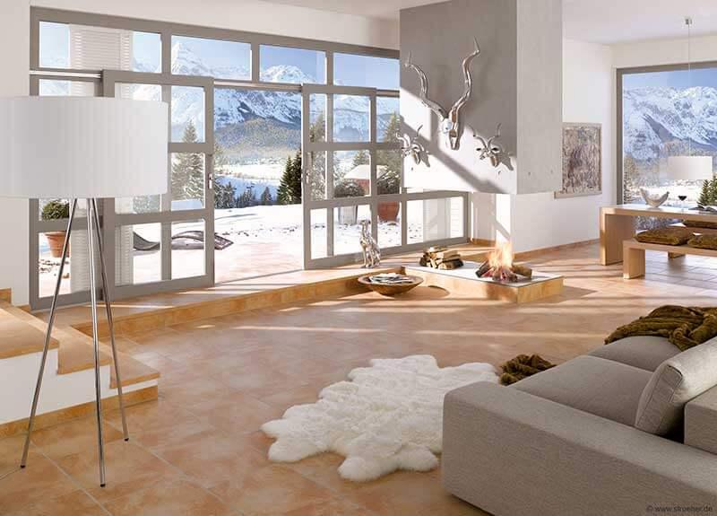 Fliesen-Saalmueller-Wohnzimmer-Flur