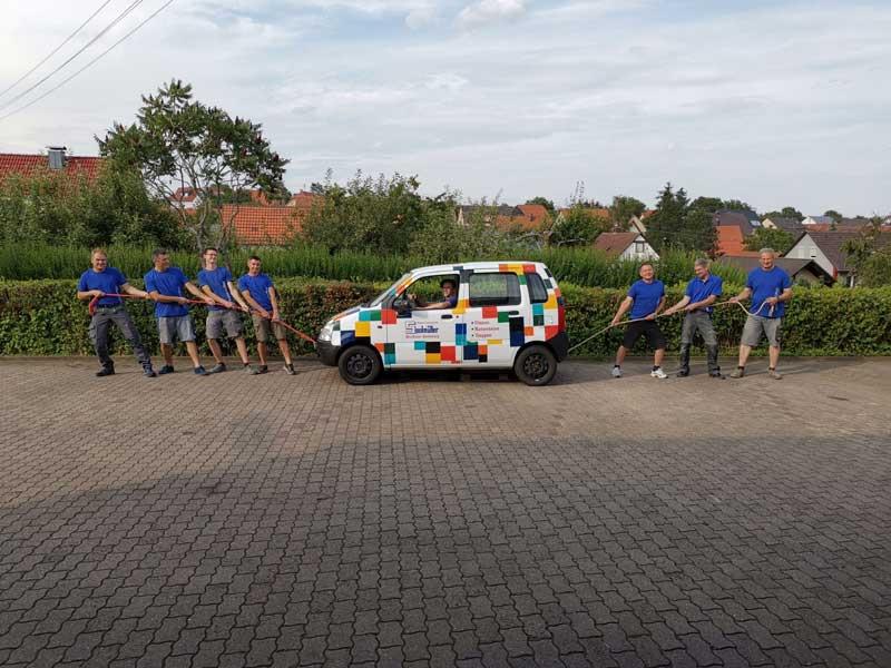 Fliesen-Saalmueller-Team
